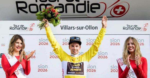 Roglic vince il Giro di Romandia 2018, ultima tappa ad Ackermann