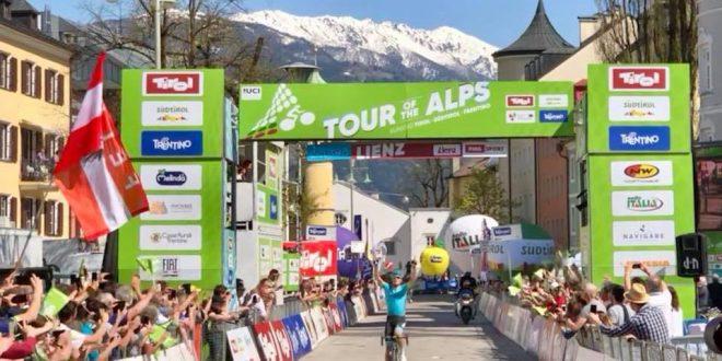 Tour of the Alps 2018, è tris Astana: Sanchez primo a Lienz