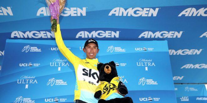 Uno strabordante Egan Bernal conquista il Giro della California 2018