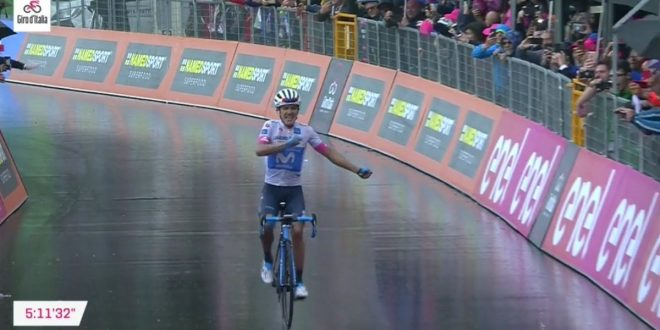 Giro d'Italia 2018, Carapaz si esalta a Montevergine