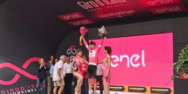 Giro d'Italia 2018, Dumoulin numero uno a Gerusalemme: è la prima Maglia Rosa