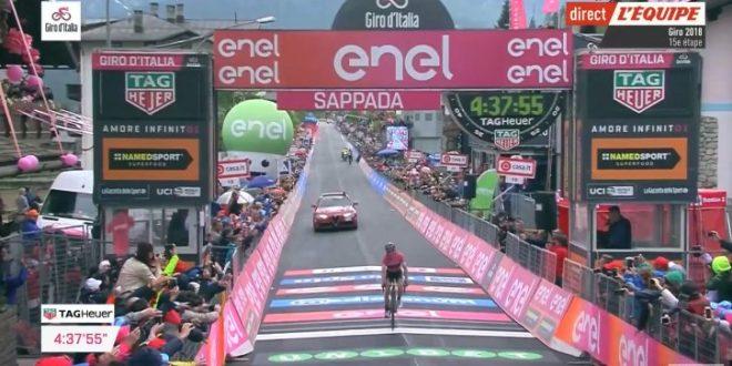 Giro d'Italia 2018, Yates padrone anche a Sappada
