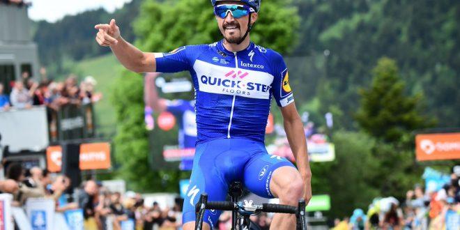 Giro del Delfinato 2018: Alaphilippe vince la quarta, Moscon nuovo leader