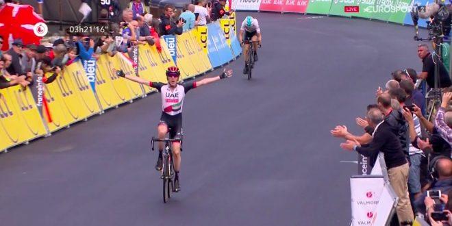 Giro del Delfinato 2018, Daniel Martin primo a Valmorel