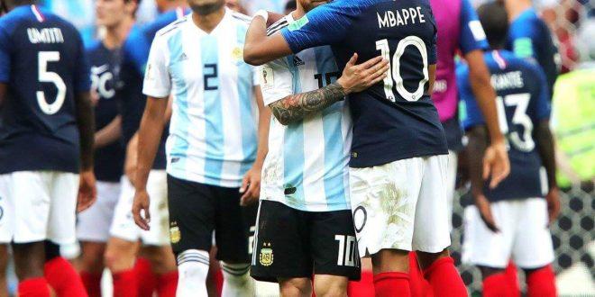 Mondiali Russia 2018, Francia annienta Argentina, Uruguay batte Portogallo: Messi e CR7 fuori
