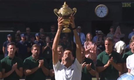 Djokovic risorge: battuto Anderson in tre set, è trionfo a Wimbledon 2018
