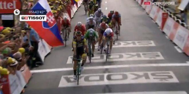 Tour de France 2018, Groenewegen si sveglia a Chartres