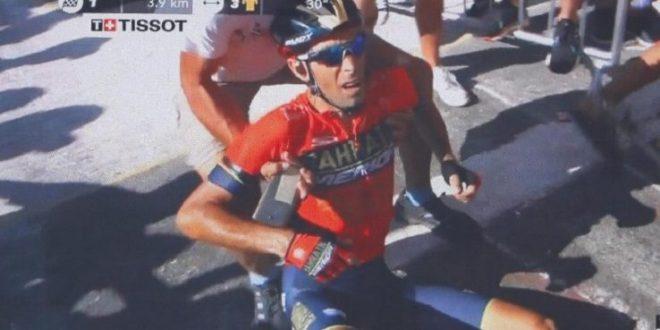 Nibali, addio Tour de France 2018: vertebra rotta e ritiro