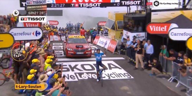 Tour de France 2018. Orgoglio Quintana sul Col du Portet, Froome in difficoltà