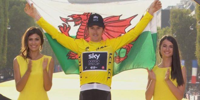 Super G conquista Parigi: Geraint Thomas, da campione olimpico a maglia gialla al Tour de France