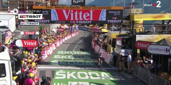 Tour de France 2018, dominio Sky a La Rosiere: tappa e maglia a Thomas