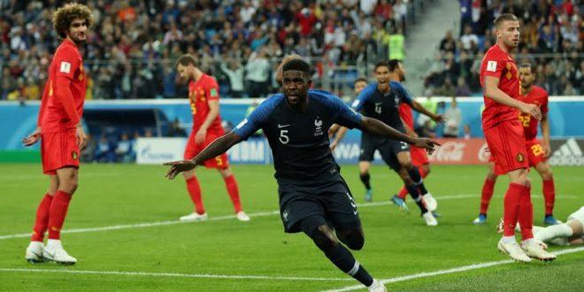Francia in paradiso, Belgio all'inferno: Blues battono Diavoli Rossi, è finale ai Mondiali 2018!