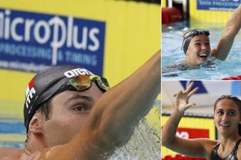 Nuoto, Europei 2018. Straripante Italia: tris d'oro con Codia, Panziera e Quadarella