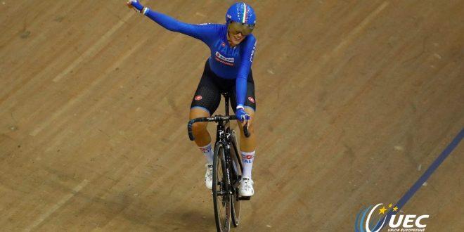 Ciclismo, Europei 2018: Confalonieri d'oro, Viviani d'argento