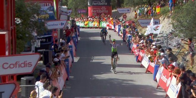 Vuelta a Espana 2018, fuga vincente di King