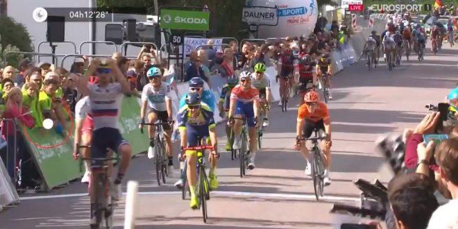 Giro di Germania 2018, tappa e maglia per Mohoric