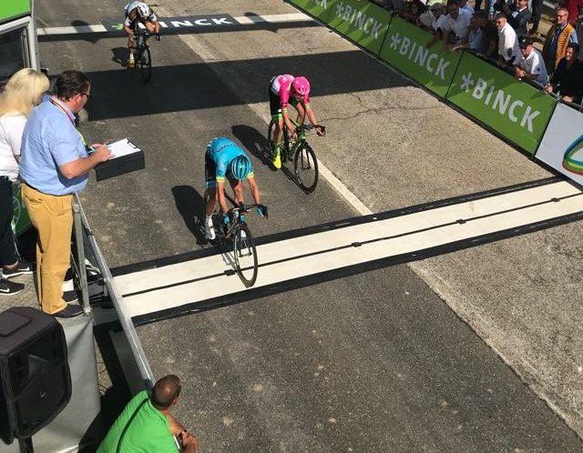 Binck Bank Tour 2018, fuga vincente di Nielsen