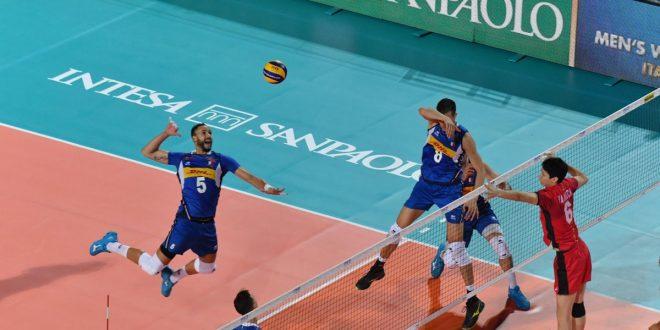Mondiali Volley 2018, buona la prima per l'Italia al Foro Italico: Giappone battuto 3-0