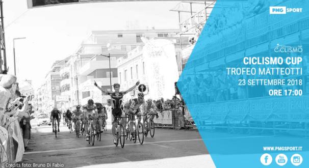 Ciclismo Cup, Trofeo Matteotti 2018 in streaming su Mondiali.net
