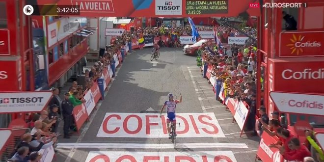 Pinot sorride ad Andorra, Simon Yates ipoteca la Vuelta 2018