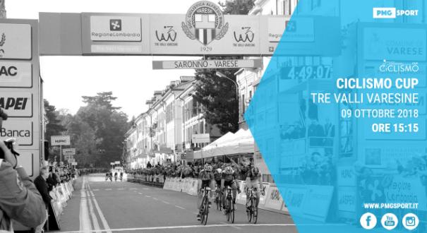 Ciclismo Cup, Tre Valli Varesine 2018 in diretta streaming su Mondiali.net