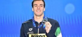 Nuoto, Mondiali vasca corta 2018: il sigillo d'argento di Greg