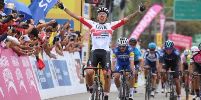Tour Colombia 2019, Molano alza le braccia al cielo