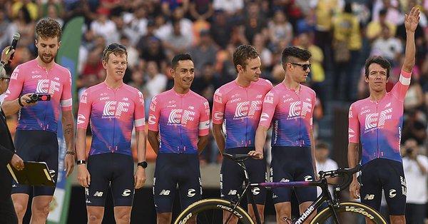 Tour Colombia 2019, cronosquadre d'apertura alla EF Drapac