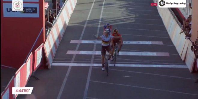 UAE Tour 2019, Valverde non sbaglia: primo a Jebel Hafeet