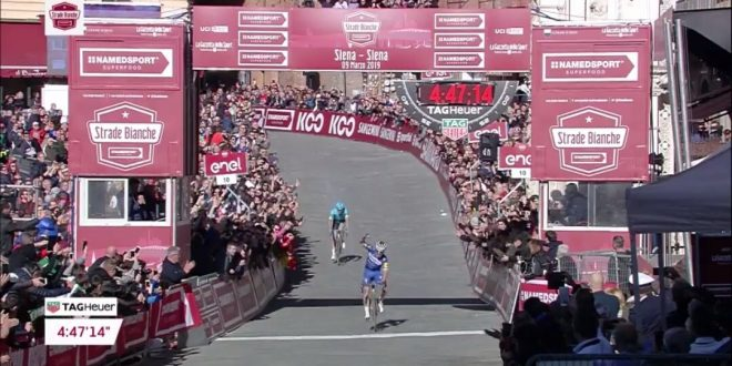 Strade Bianche 2019, implacabile Alaphilippe!
