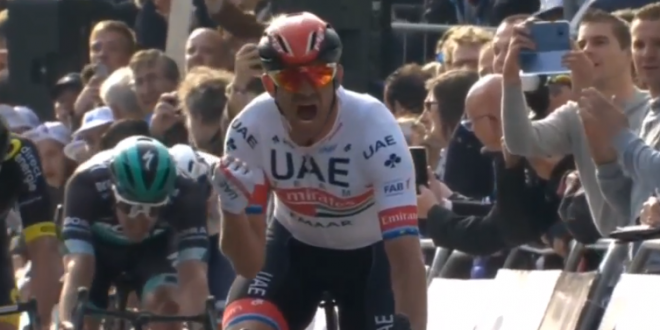 Gand-Wevelgem 2019, Kristoff in trionfo