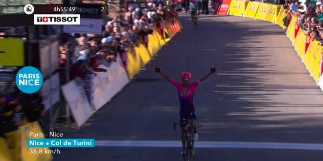 Parigi-Nizza 2019: Martinez primo sul Col de Turini, maglia a Bernal