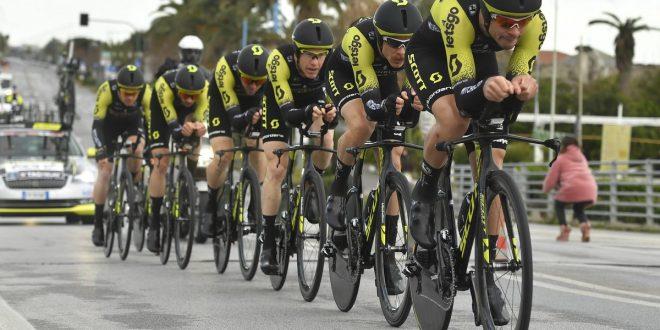 Tirreno-Adriatico 2019, siluro Mitchelton-Scott a Camaiore: Hepburn primo leader
