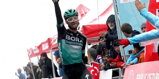 Giro di Turchia 2019: la neve non ferma Grossschartner nella tappa regina