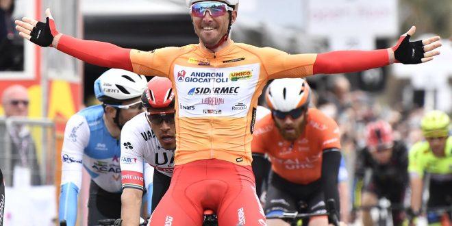 Giro di Sicilia 2019, riscatto Belletti a Palermo