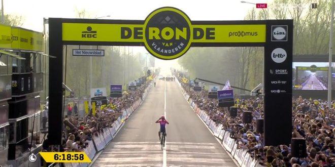 Il Giro delle Fiandre 2019 si tinge d'azzurro: favoloso Alberto Bettiol!