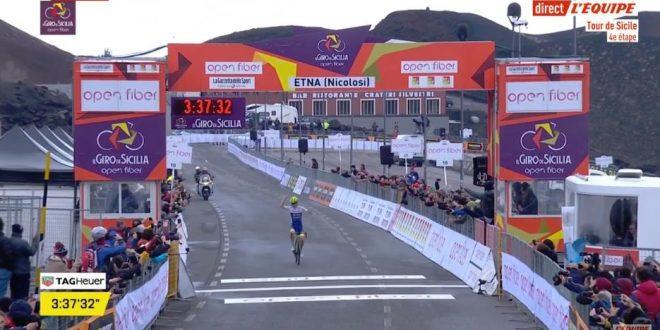 Giro di Sicilia 2019, l'Etna consacra McNulty; tappa a Martin
