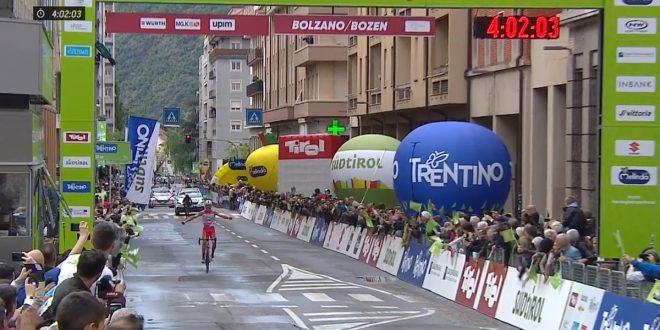 Sivakov trionfa al Tour of the Alps 2019, Masnada bis a Bolzano