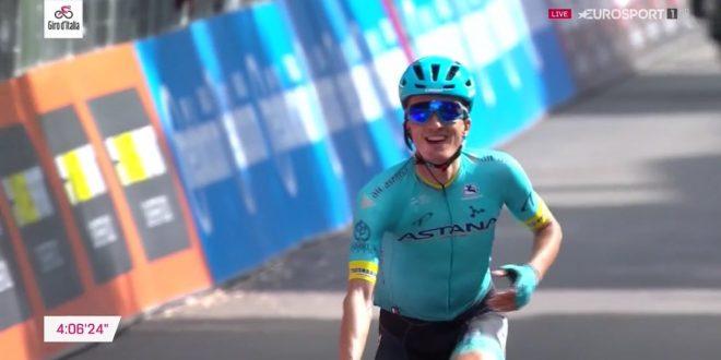Giro d'Italia 2019, ancora la fuga a L'Aquila: vince Bilbao