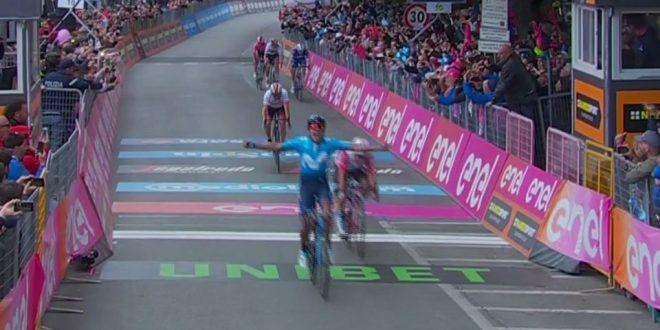 Giro d'Italia 2019, a Frascati spunta Carapaz. Roglic guadagna terreno, Dumoulin Ko