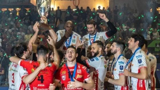 Volley, Civitanova e Novara sul tetto d'Europa: è apoteosi Italia