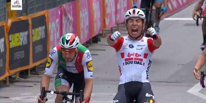 Giro d'Italia 2019, Ewan ferma Viviani a Pesaro