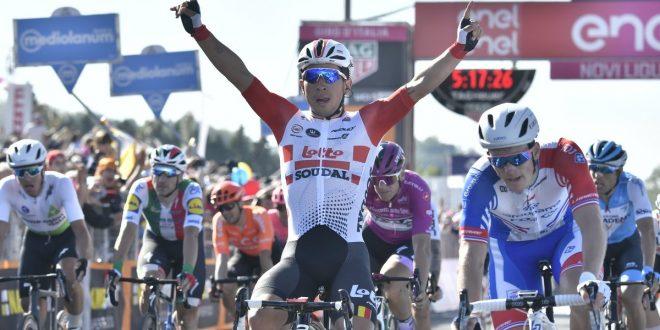 Giro d'Italia 2019, Ewan concede il bis a Novi Ligure