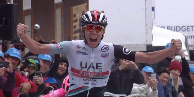 Vuelta a Espana 2019, trionfo Slovenia: tris e podio Pogacar, Roglic in rosso