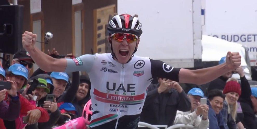 L'astro nascente Pogacar vince il Giro della California 2019