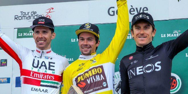 Giro di Romandia 2019, è dominio Roglic: tre tappe e classifica generale