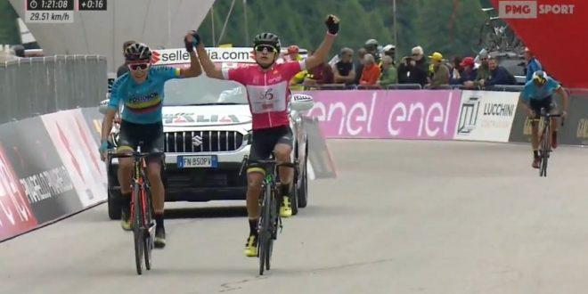 Monopolio Colombia al Giro d'Italia Under 23 2019: Ardila maglia rosa