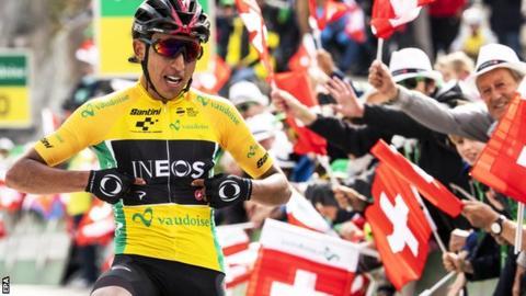 Bernal trionfa al Giro di Svizzera 2019, ultima tappa a Carthy