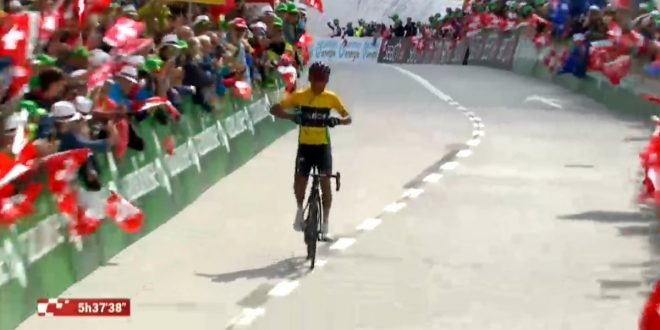 Giro di Svizzera 2019, Bernal doma il San Gottardo. Secondo Pozzovivo
