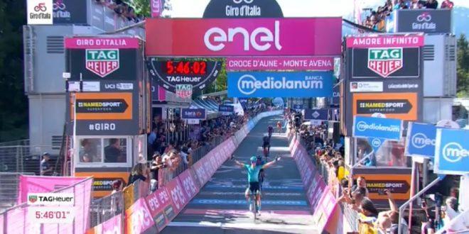 Bilbao vince sul Monte Avena, Carapaz blinda il Giro d'Italia 2019